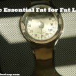 the essential fat for fat loss