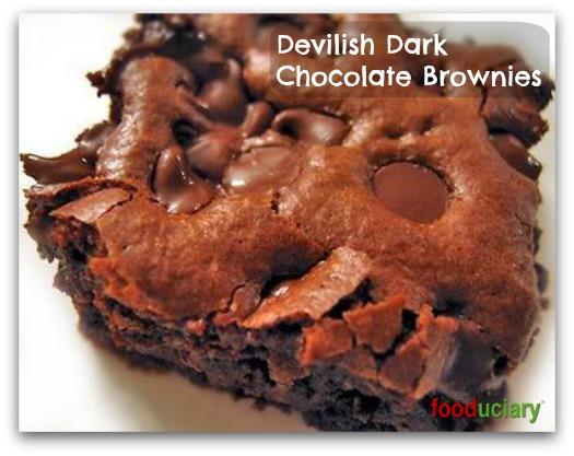 gluten free dark chocolate brownies
