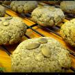 grain and dairy free pumpkin seed ginger cookies