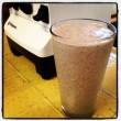 healthy raw peanut butter shake