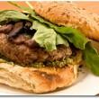 vegan mushroom bean burgers